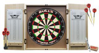 Deluxe Cabinet Dartboard Pro Set