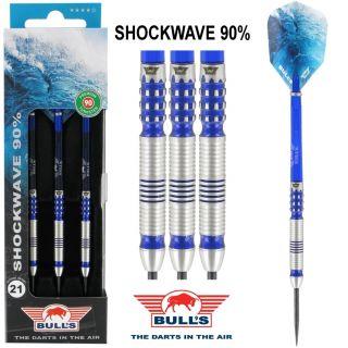 Shockwave 90% | Bull's Dartpijlen | Webwinkel Dartswarehouse
