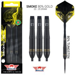 Bull's Smoke 80% Gold Dartpijlen| Darts Warehouse