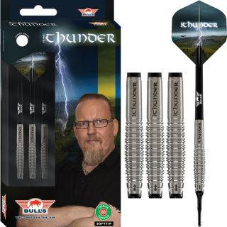 Softtip The Thunder 80% Bull's NL Darts | Darts Warehouse