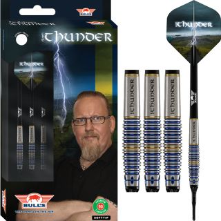 Softtip The Thunder 90% Bull's NL Darts | Darts Warehouse