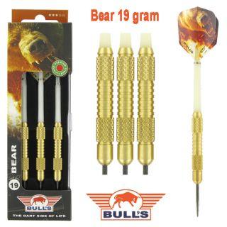 Bear Brass 19 gram   Bulls Dartpijlen Kopen   Darts Warehouse