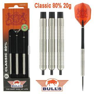 Bulls Classic 80% 20 gram Darts Kopen | Darts Warehouse de online dartwinkel