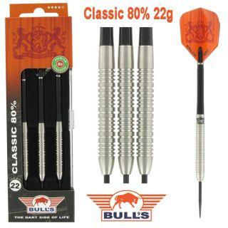 Bulls Classic 80% 22 gram Darts Kopen | Darts Warehouse de online dartshop