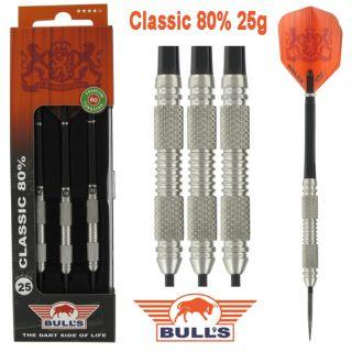 Classic 80% 25 gram | Bulls Dartpijlen Kopen