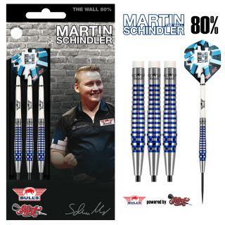 Martin Schindler The Wall 80% Steeltip | Darts Warehouse