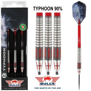Bull's Typhoon 90% Darts| Darts webwinkel Dartswarehouse