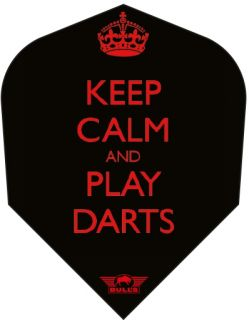 Keep Calm and Play Darts   Dartflights   Dartswarehouse