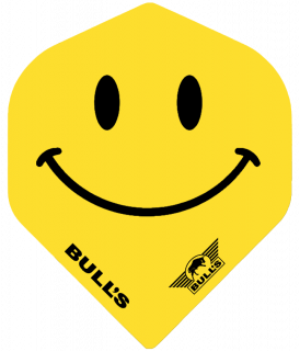 Bull's Powerflight Std. Smiley   Darts Warehouse