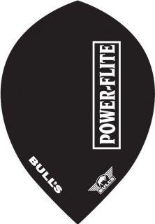 Powerflite L Pear Black Bull's Powerflite | Darts Warehouse
