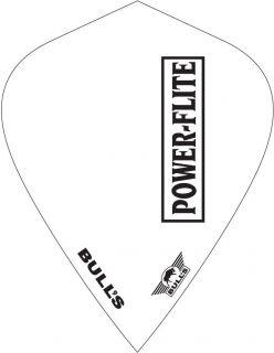 Powerflite L Kite White Bull's Powerflite | Darts Warehouse