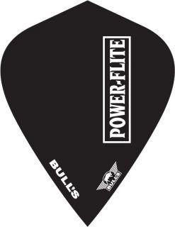 Powerflite L Kite Black Bull's Powerflite | Darts Warehouse