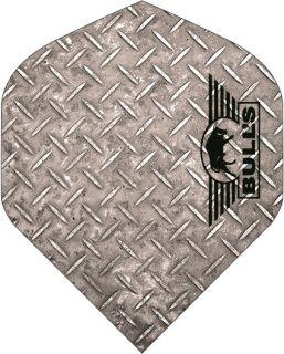 Bull's Powerflite Std. Checker Silver   Darts Warehouse