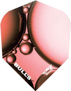 Bull's Powerflite Std.6 Red Bubble   Darts Warehouse