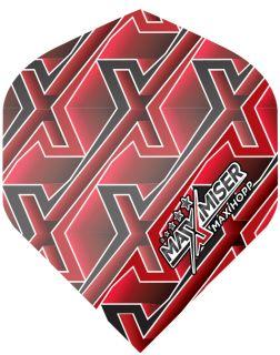 Max Hopp MAX Red Std. Powerflite Bull's | Darts Warehouse