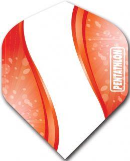 Pentathlon Std. Spiro Red   DartsWarehouse Dart Flights
