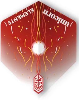 UltraFly Elements Red Firestorm Big Wing Unicorn Flight | Darts Warehouse