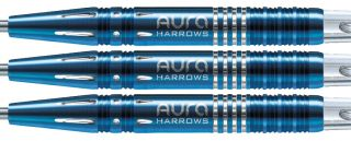 Aura Blue Titanium 95% A Harrows Dartpijlen   Darts Warehouse