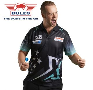 Bull's Max Hopp Matchshirt 2018   Darts Warehouse