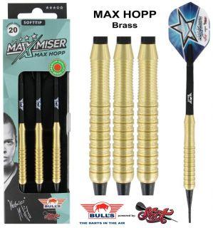 Softtip Bull's Max Hopp Brass 20 gram | Darts Warehouse