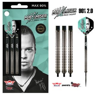 Bull's MAX 90 2.0 90% Max Hopp Steeltip | Darts Warehouse