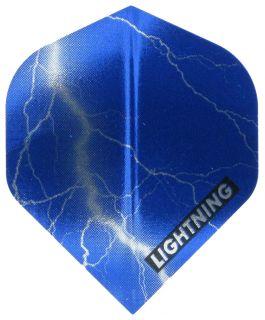 Metallic Lightning Blauw