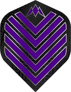 Mission Admiral Std. Purple Dartflight | Darts Warehouse