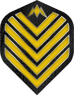 Mission Admiral Std. Yellow Dartflight | Darts Warehouse