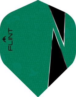 Mission Flint-X Std. Green Dartflight   Darts Warehouse