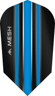 Mission Mesh Slim Aqua Blue Dartflight   Darts Warehouse