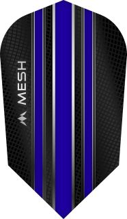 Mission Mesh Slim Dark Blue Dartflight   Darts Warehouse