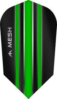 Mission Mesh Slim Green Dartflight   Darts Warehouse