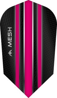 Mission Mesh Slim Pink Dartflight   Darts Warehouse