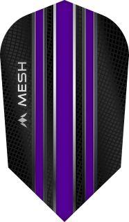 Mission Mesh Slim Purple Dartflight | Darts Warehouse