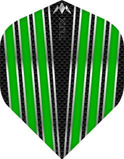 Mission Tux Std. Green Dartflight   Darts Warehouse