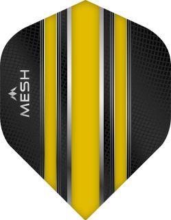 Mission Mesh Std. Yellow Dartflight | Darts Warehouse