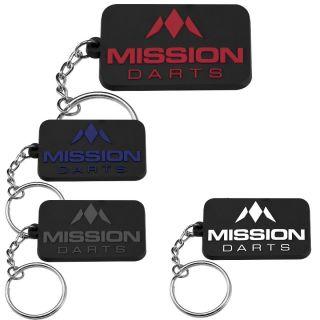 All Mission Logo Keyrings   Dartshop Darts Warehouse