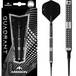 Mission Quadrant 90% M4 Softtip Darts | Darts Warehouse