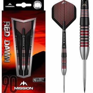 Mission Red Dawn 90% M2 Darts | Darts Warehouse