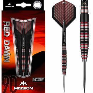 Mission Red Dawn 90% M3 Darts | Darts Warehouse