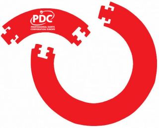 PDC Darts Surround Ring Red