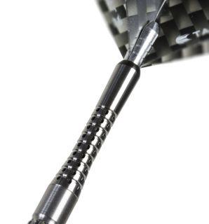 Pixel Grip Titanium Black In Between | Target Shafts | DartsWarehouse