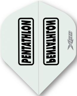 Pentathlon X180 Clear | McKicks Flights | Darts Warehouse