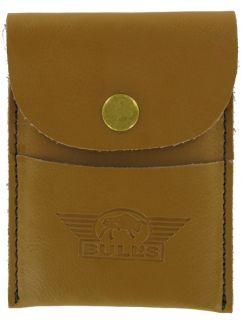 Real Leather Etui Deluxe Brown | DartsWarehouse.nl