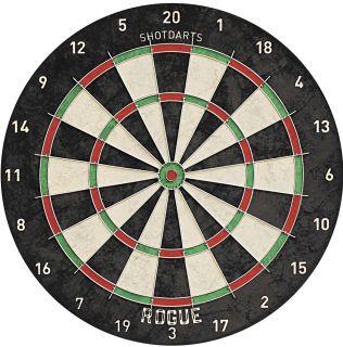 Shot Rogue Bristle Dartboard | Darts Warehouse