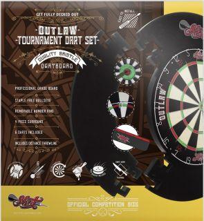Shot Outlaw Tournament Dartboard Set | Darts Warehouse