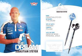 Sebastian Steyer Handtekeningkaart 2020   Darts Warehouse