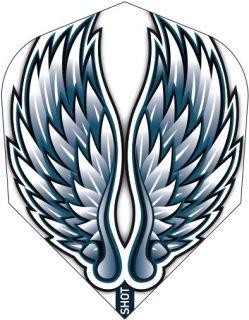 Shot Branded Std.6 Flight Birds of Prey Eagle Wings   Darts Warehouse