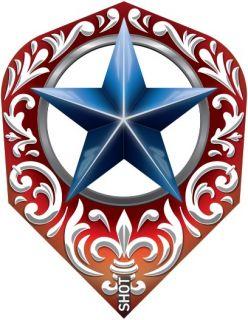 Shot Branded Std.6 Flight Wild Frontier Trailblazer-X | Darts Warehouse