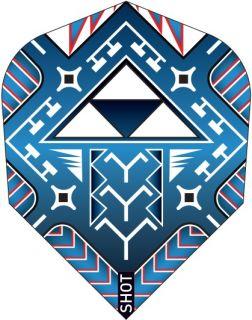 Shot Branded Std.6 Flight Tribal Weapon Toa | Darts Warehouse